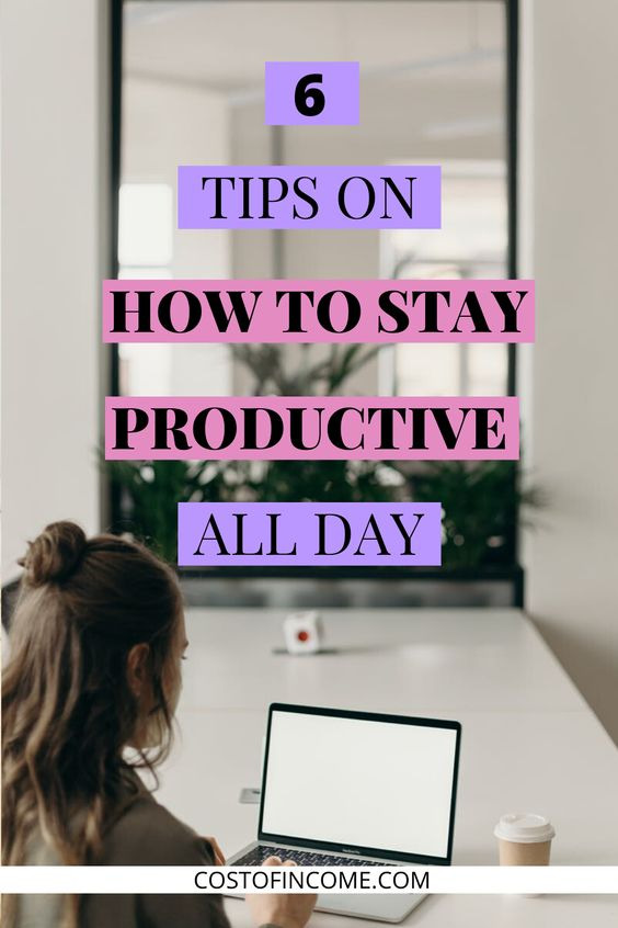pinterest pin on productivity.