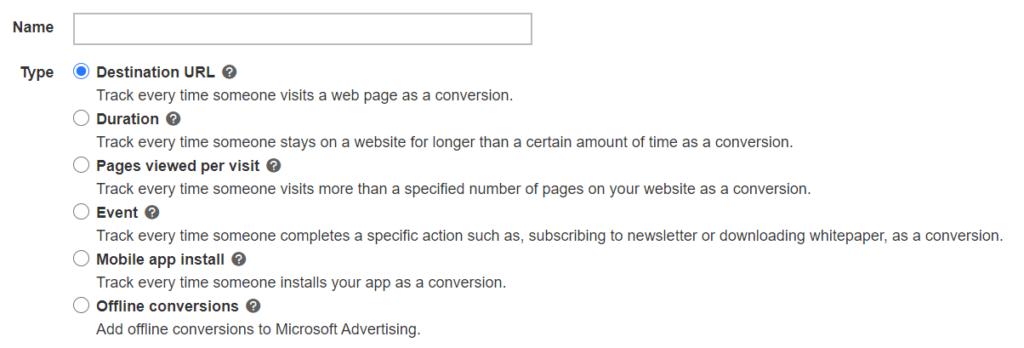 destination url conversion for micrsoft ads.