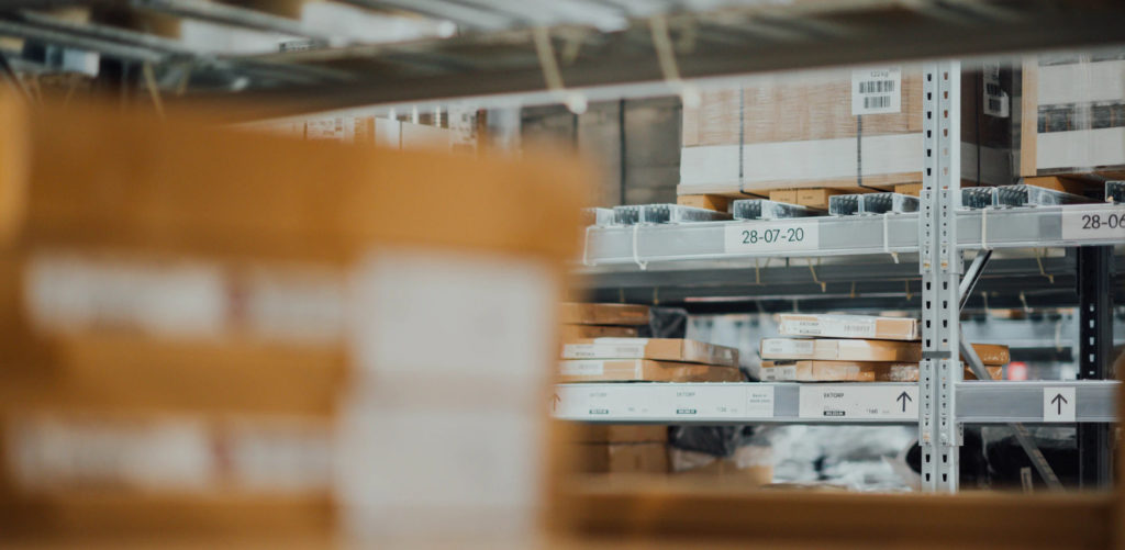 Shipping warehouse.