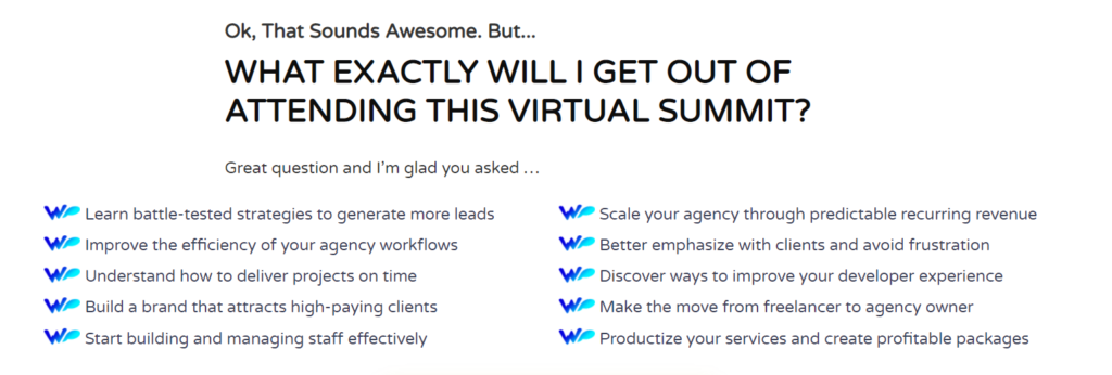 What will you get from attending this virtual summit?
