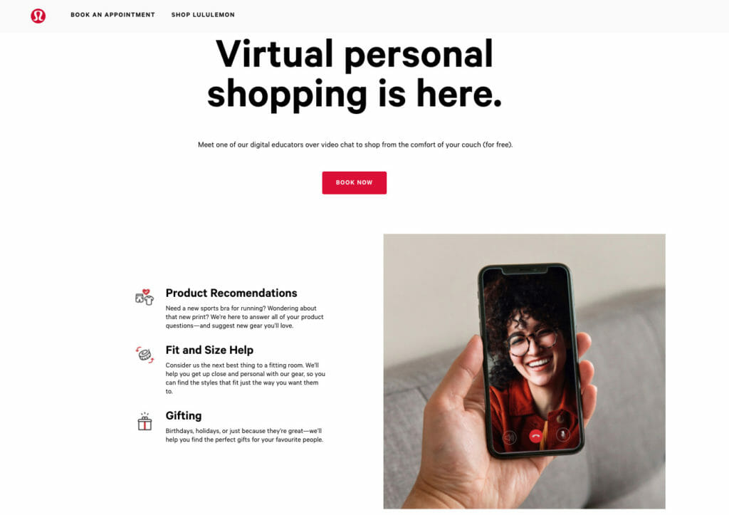 Virtual shopping.