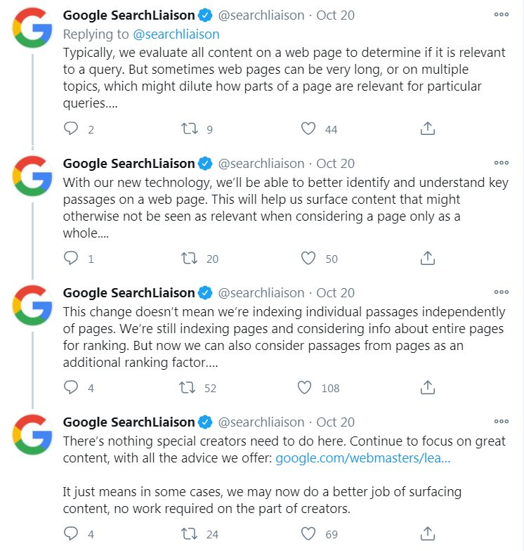 Google Search Twitter account.