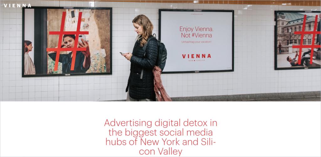 Vienna advertising.
