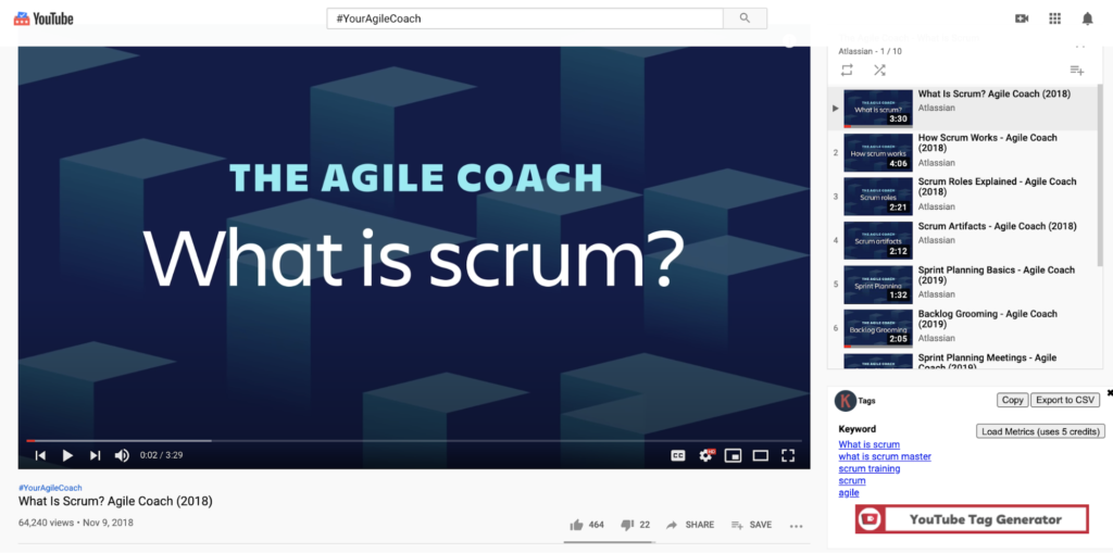 The agile coach.