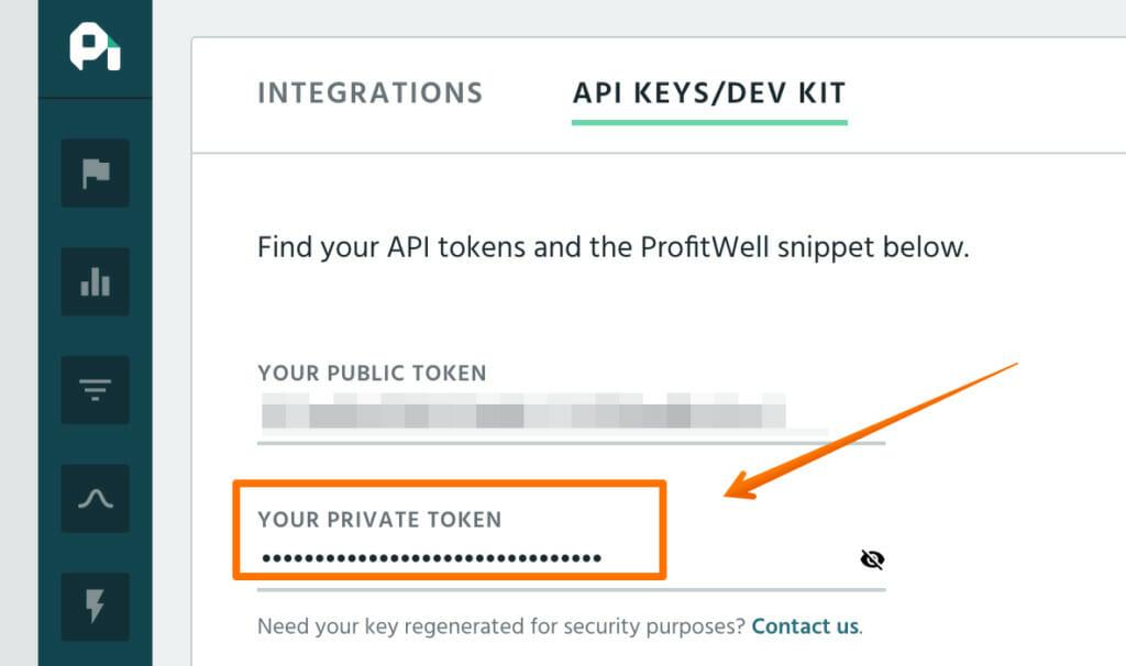 API Keys.