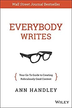 Everybody writes.