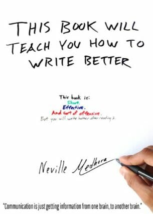 this book will teach you how to write better.