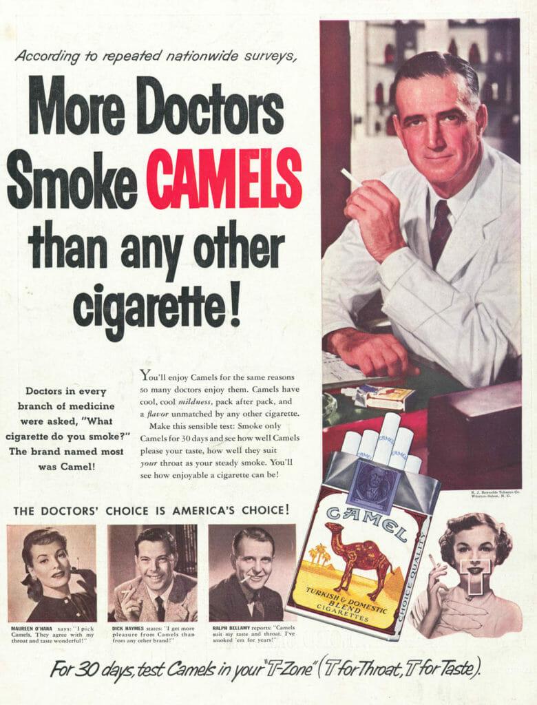 Camels ad.