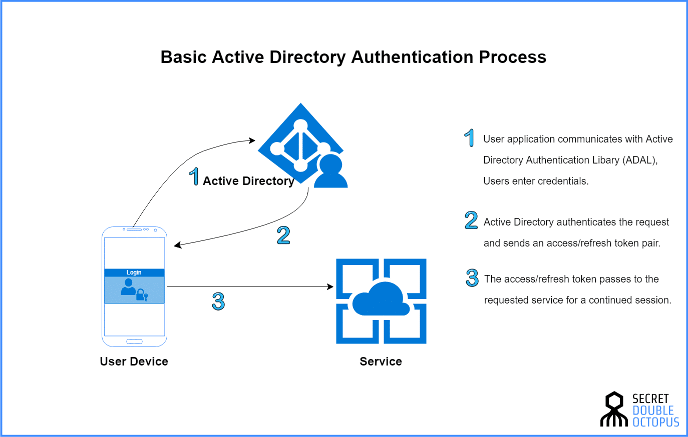 director of authentication process