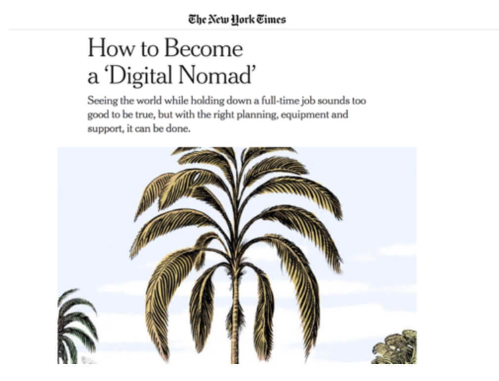How to Become a 'Digital Nomad'