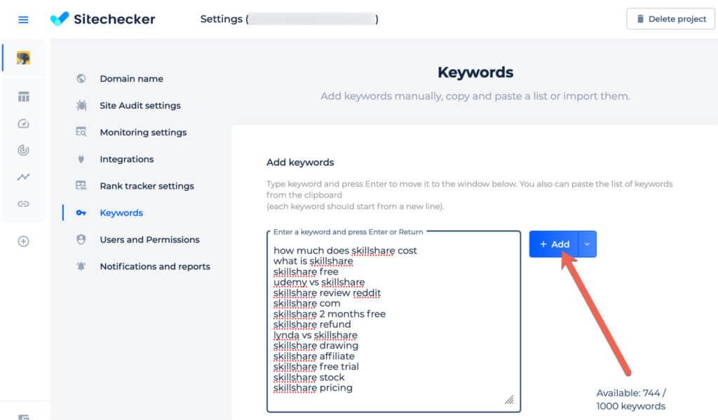 Branded search keywords