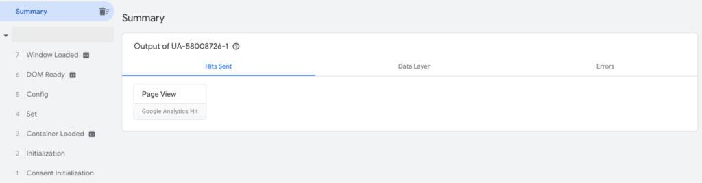 Google Tag Manager summary