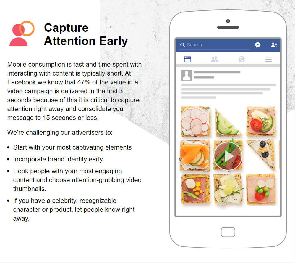 Guidance for getting attention from Facebook
